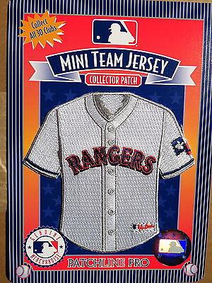 Sonderabschnitt Mlb Texas Rangers Heim Mini-jersey 10.2cm Patch Von 2006 Weitere Ballsportarten Sport
