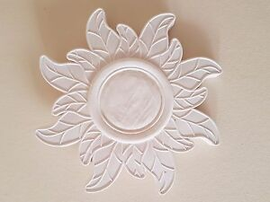 1 Ornate decorative flower style plaster wall ceiling rose plaque ...
