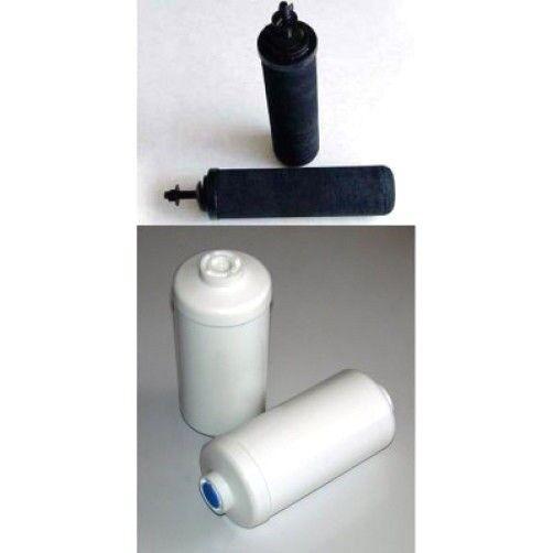 2 Noir Berkey & 2 PF-2 Fluorure de Filtres à eau Big Royal Imperial Crown Travel