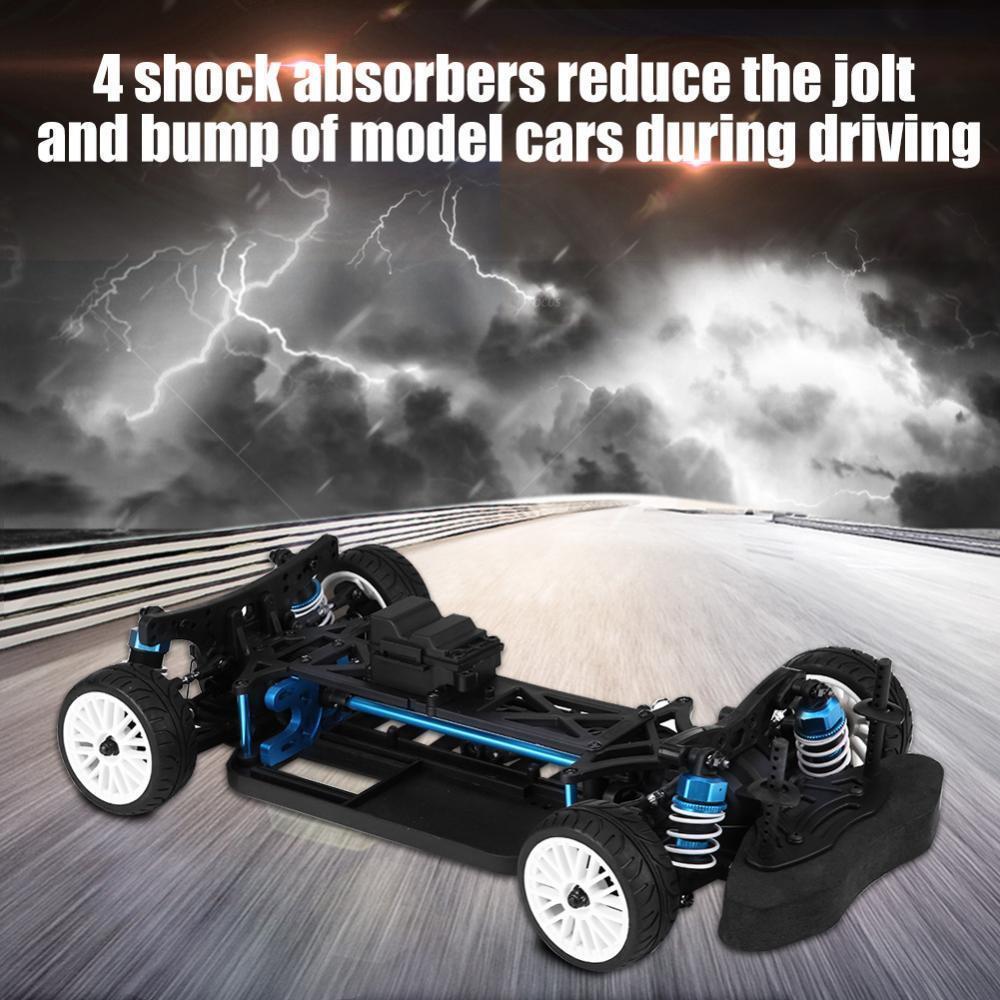 Aluminium&autobon frame 1 10 4WD davanti Motor  RC Drift auto Kit for ZD RC auto  GD  incredibili sconti