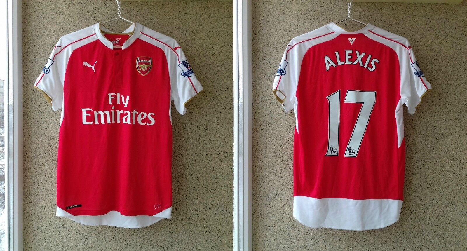 Sanchez Alexis Arsenal 20152016 Home football shirt Puma Soccer England London