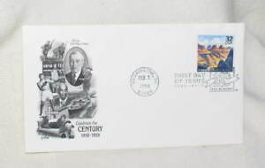 FIRST-DAY-ISSUE-GRAND-CANYON-PARK-CELEBRATE-CENTURY-FDC