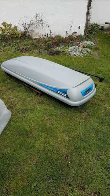 Tagboks, Thule Ocean 600., I have a roof box that I can't…