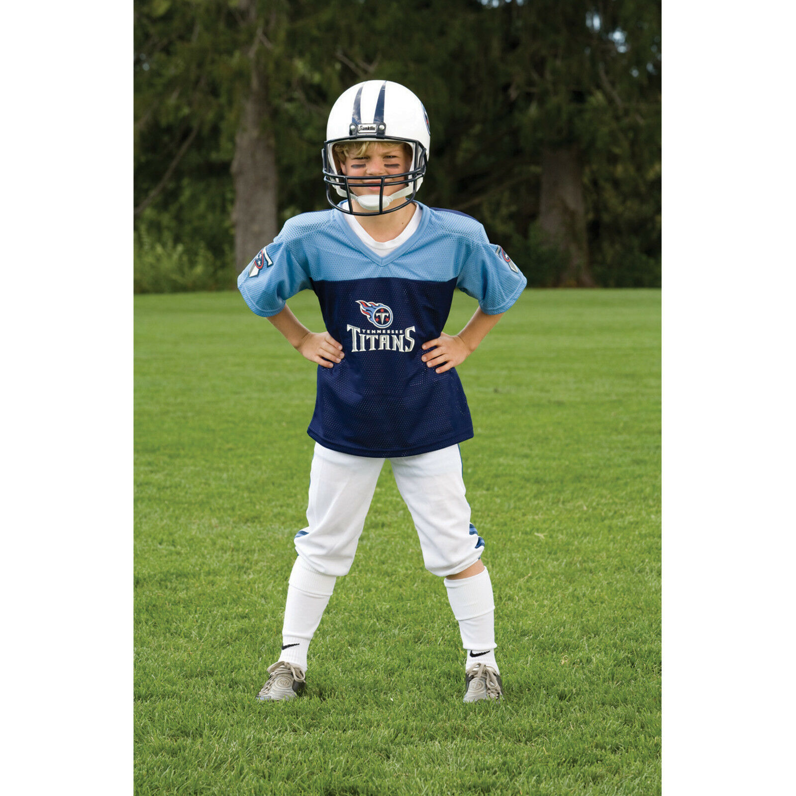 YOUTH små Tennessee Titans NFL Uniforme SET Kill Game Day Jersey Costume Age 4-6