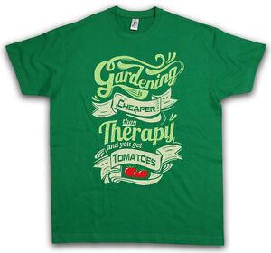Vintage Gardening T Shirt Vegetarian Animal Welfare