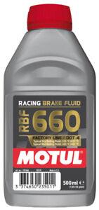 Olio Freni Motul RBF 660 DOT 4 FL Racing Fluido Auto e Moto 100% Sintetico 500ml