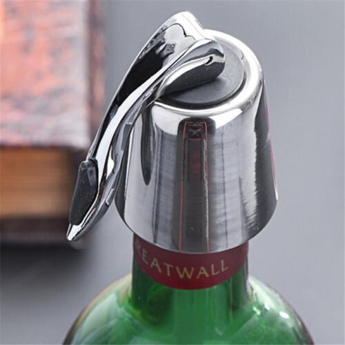 Vacuum Sealed Wine Champagne Storage Bottle Stopper Sealer Cap YS