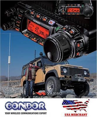 Yaesu FT-857D Amateur Radio Transceiver - HF, VHF, UHF All-Mode 100W ft857d 857D
