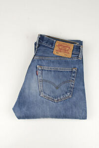 32510 Levi's Levi Strauss 501 Bleu Hommes Jean Taille 34/32