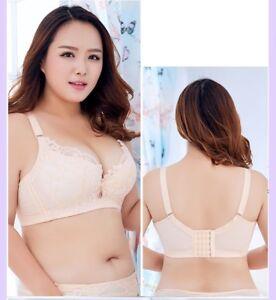 suitable for men/women choose newest size 40 Details about Women's Plus Size Bras Lace Full Coverage Underwire Floral  Lingerie sutyen sutia