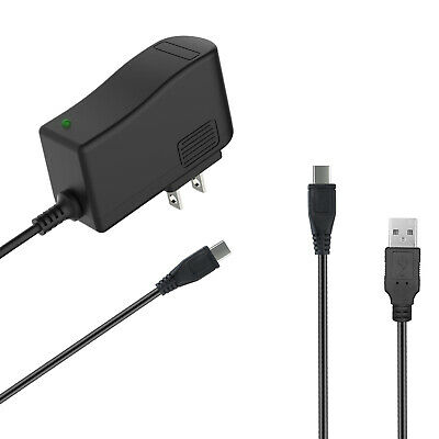 USB Cord for Pandigital Novel RR7T10WWH7 Tablet AC//DC Adapter Wall Charger