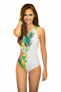 32ca75bb8 Image is loading Mapale-White-Swimsuit-Ladies-Swimwear -Swimming-Costume-Swim-