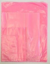 Pink Open Ended Anti Static Bag Antistatic Poly Bags 4mil 2mil Electronic