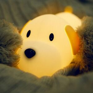 Details About Uk Silicone Soft Animal Led Lamp Baby Kids Children Bedroom Nursery Night Light