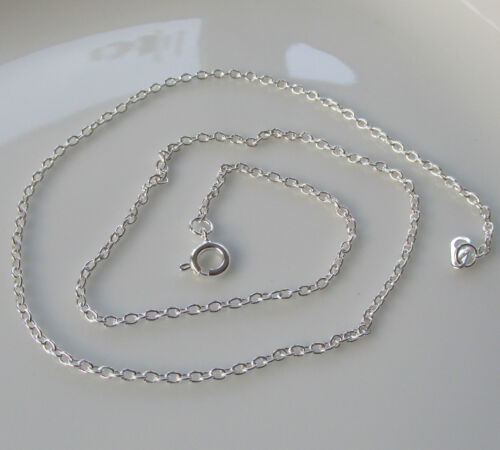 """Jewellery Craft Design Silver Plated Trace Chain Chains Findings 16/"""" PACKS"""