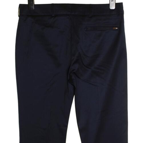 Connection Pantaloni French Blu Donna Nero Elasticizzato Nuovo In Raso Lusso qFUgv4Z