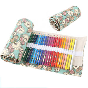 Canvas-Wrap-Roll-Pouch-Pencil-Makeup-Cosmetic-Brush-Pen-Storage-Bag