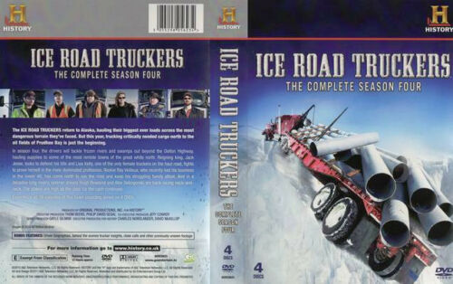 1 of 1 - Ice Road Truckers : Season 4 (DVD, 2012, 4-Disc Set) Region 4