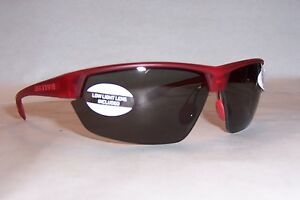 4f22934ea19 NEW NATIVE SUNGLASSES HARDTOP ULTRA RED FROST GRAY  129 POLARIZED ...