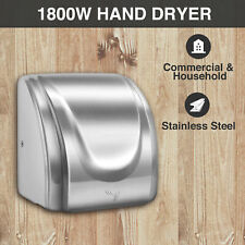 1800W High Speed Electric Hand Dryer Commercial and Household Use