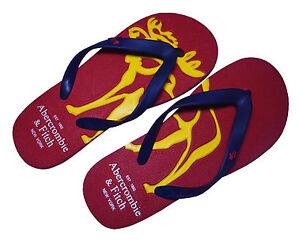 1b073b1e039115 A F Abercrombie   Fitch Mens Flip Flops Pool Beach Sandals Slippers ...