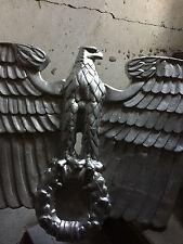 """Amtgebäude Reichsadler """"Deutsches Reich"""" 60x55cm aus Metallguss"""