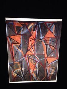 "Brice Marden ""Untitled 2"" Hard Edge Minimalism 35mm Art Slide"