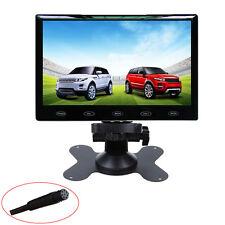 US HD 9'' Ultra Thin 800x480 TFT LCD Color Audio HDMI VGA Car Rear View Monitor