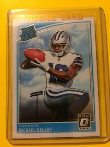 DONRUSS-OPTIC-MICHAEL-GALLUP-RATED-ROOKIE-RC-174-Cowboys
