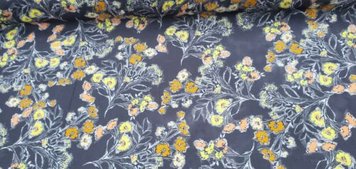 per metre Viscose Fabric 100/% dress fabric /'Soldado H`