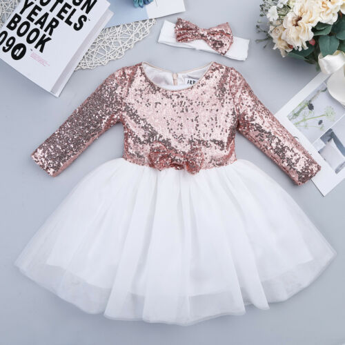 Toddler Flower Girl Dress for Princess Pageant Wedding Bridesmaid Birthday Party