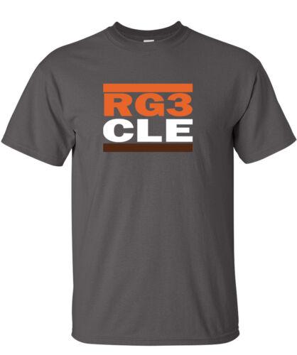 "Robert Griffin Cleveland Browns /""RG3 CLE/"" jersey T-shirt  S-5XL"