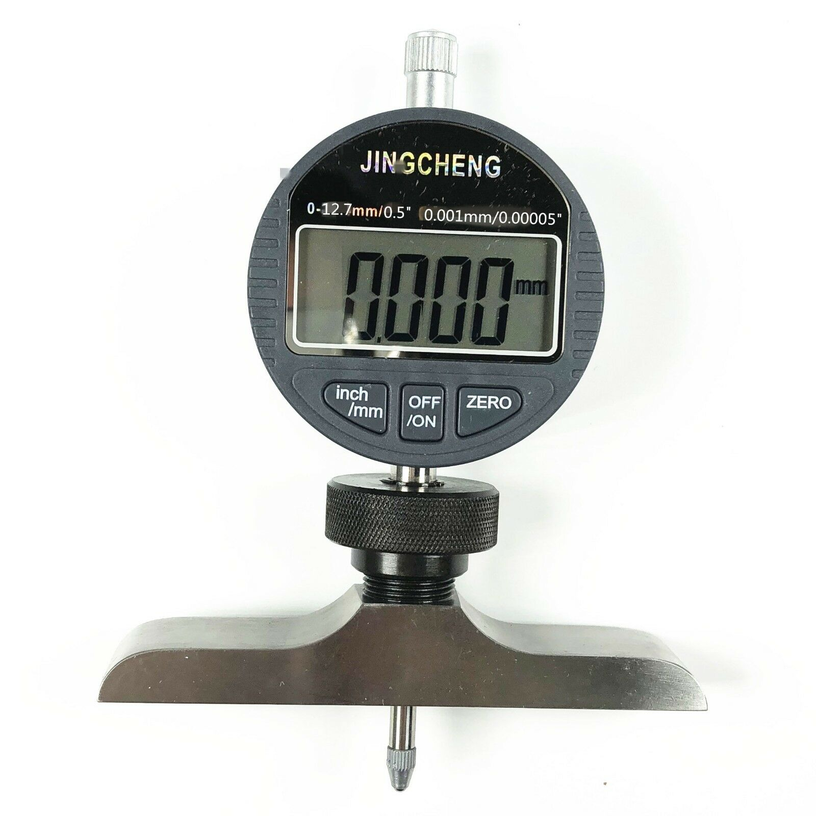 0-12.7mm 0.5  0.001mm 0.00005  Electronic Digital Depth Gauge Micrometer Gauge