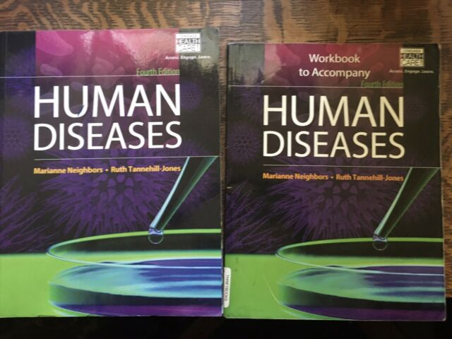 Human Diseases 4th Edition Textbook And Workbook (used ...