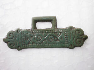 RARE ANCIENT Bronze Viking Zoomorphic Belt Decoration ca 10 - 11 century AD