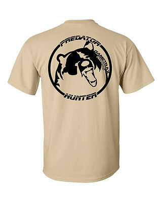 Gametrax Outdoors Predator Hunter bear hunting t shirt,compound bow,grizzly