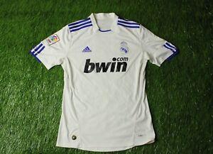 5557eebf0 Image is loading REAL-MADRID-SPAIN-2010-2011-FOOTBALL-SHIRT-JERSEY-