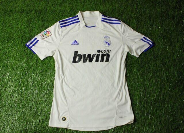 35506fe2b REAL MADRID SPAIN 2010 2011 FOOTBALL SHIRT JERSEY HOME ADIDAS ORIGINAL SIZE  M
