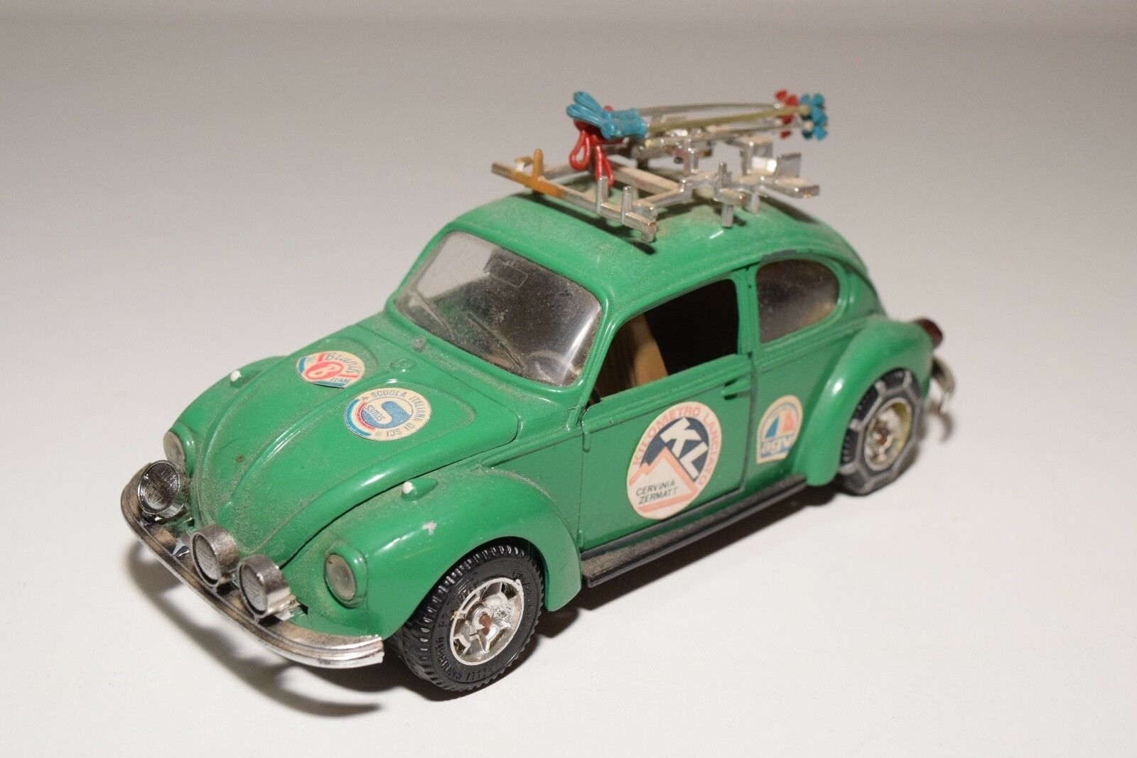 MEBETOYS MEBETOYS MEBETOYS 8615 VW VOLKSWAGEN BEETLE KAFER SKI GREEN EXCELLENT CONDITION 67c444