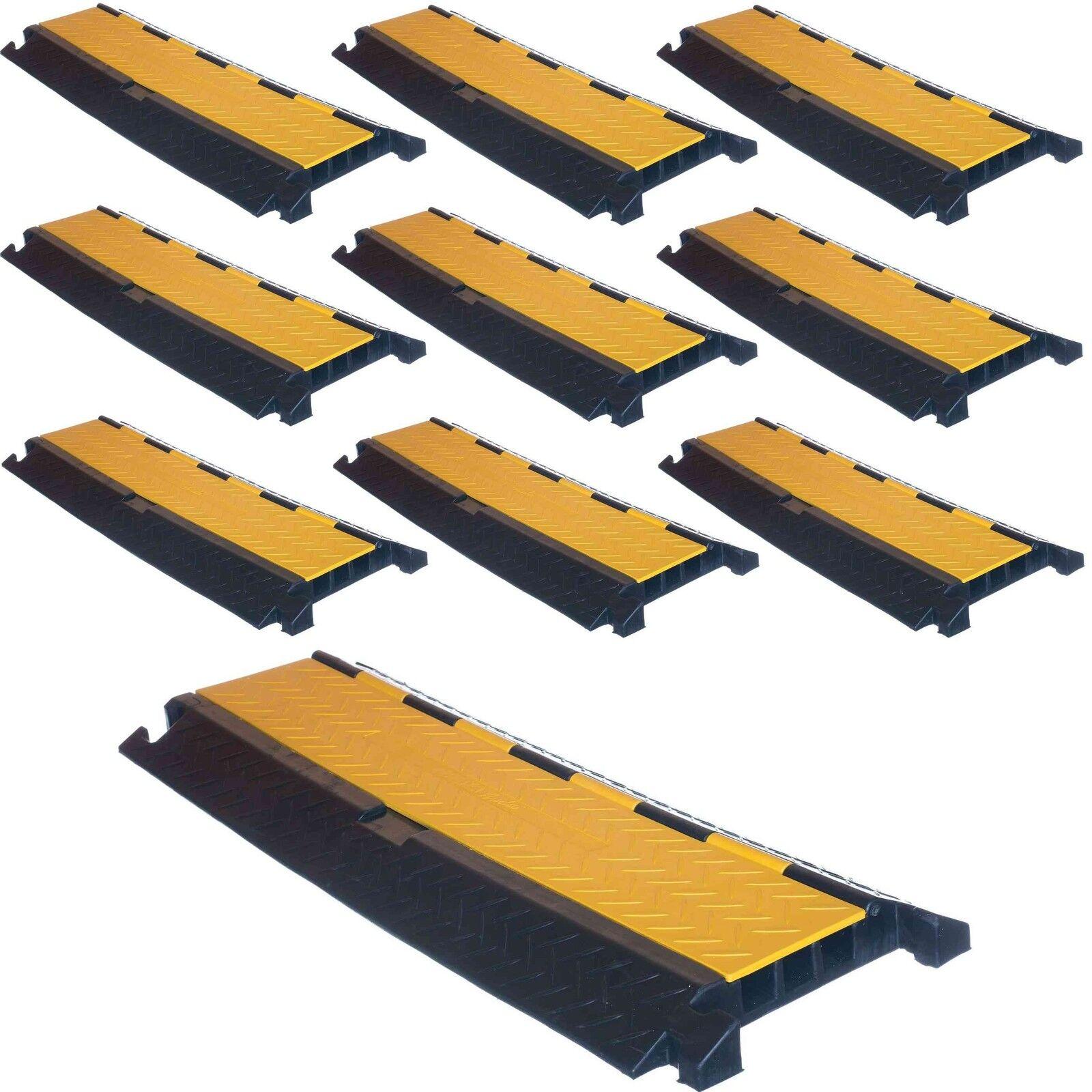 10 pezzi 3 canali Professionale Cavo Ponte Cavo tubo di protezione di guida canale rampa