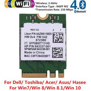 For RealTek RTL8723BE Wireless 802 11b/g/n WiFi + BT 4 0