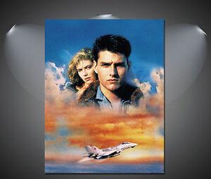 A1 Top Gun Tom Cruise Vintage Movie Poster A3 A2 A4
