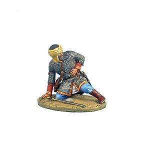 Première légion Cru040 - figurine miniature peinte à la main de guerrier mamelouk blessé