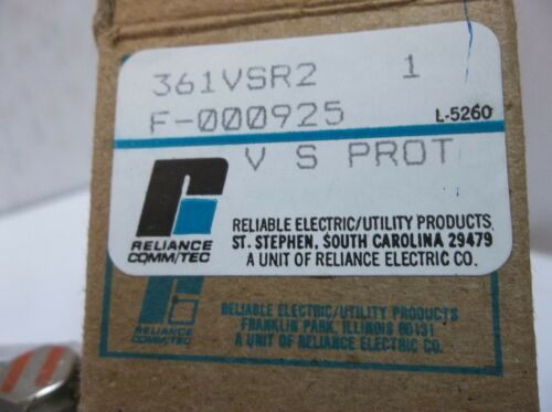 Reliable Reliance Comm//tec Signal Circuit Protector 393G Cat 361 361vsr2