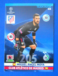 PANINI-ADRENALYN-CHAMPIONS-LEAGUE-2014-15-2015-N-55-MOYA-ATLETICO-MADRID