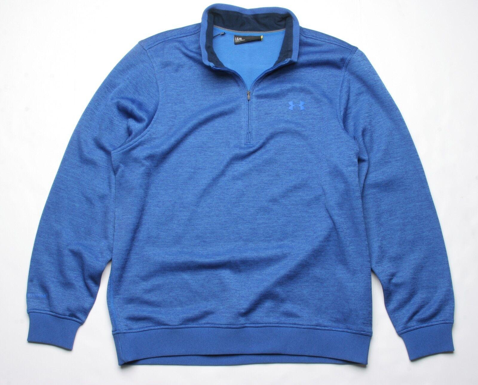 Under Armour Sturm Fleece Pullover (L) Blau