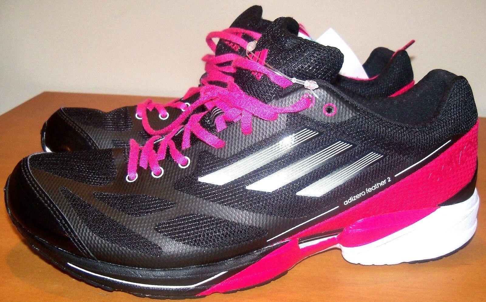 Adidas Adizero Sz 9 mujeres tenis de correr-Negro-Nuevo Sin Sin Sin Caja SHO-11  envío rápido en todo el mundo