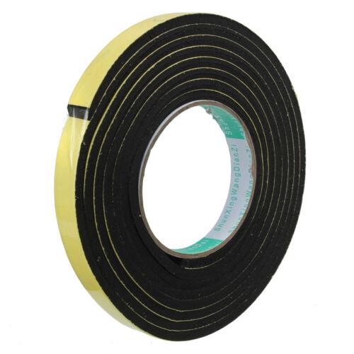 Window Gap Door Rubber Seal Strip Draught Excluder Sealing Tape EVA Foam
