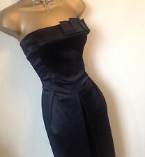 Coast stunning black dress sz 12 Vgc
