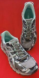 best sneakers 30680 502ef Details about Asics Gel Scram 3 Women's Running Shoe Size 9.5M Model T6K7N  Gel Cushioning